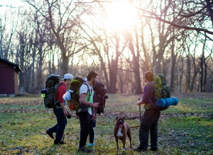 Carrying Gear on the Road: Packing it on your back not necessarily backpacking