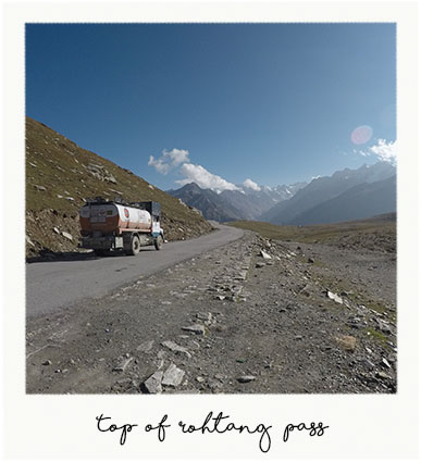 Top of rohtang pass