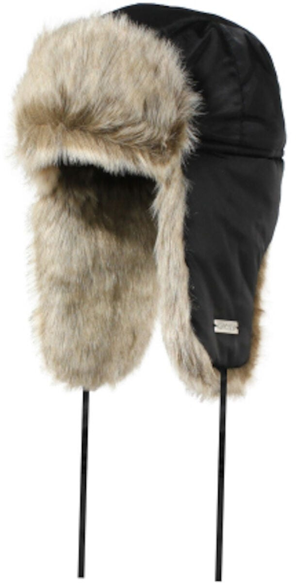 Aviator synthetic fur hat