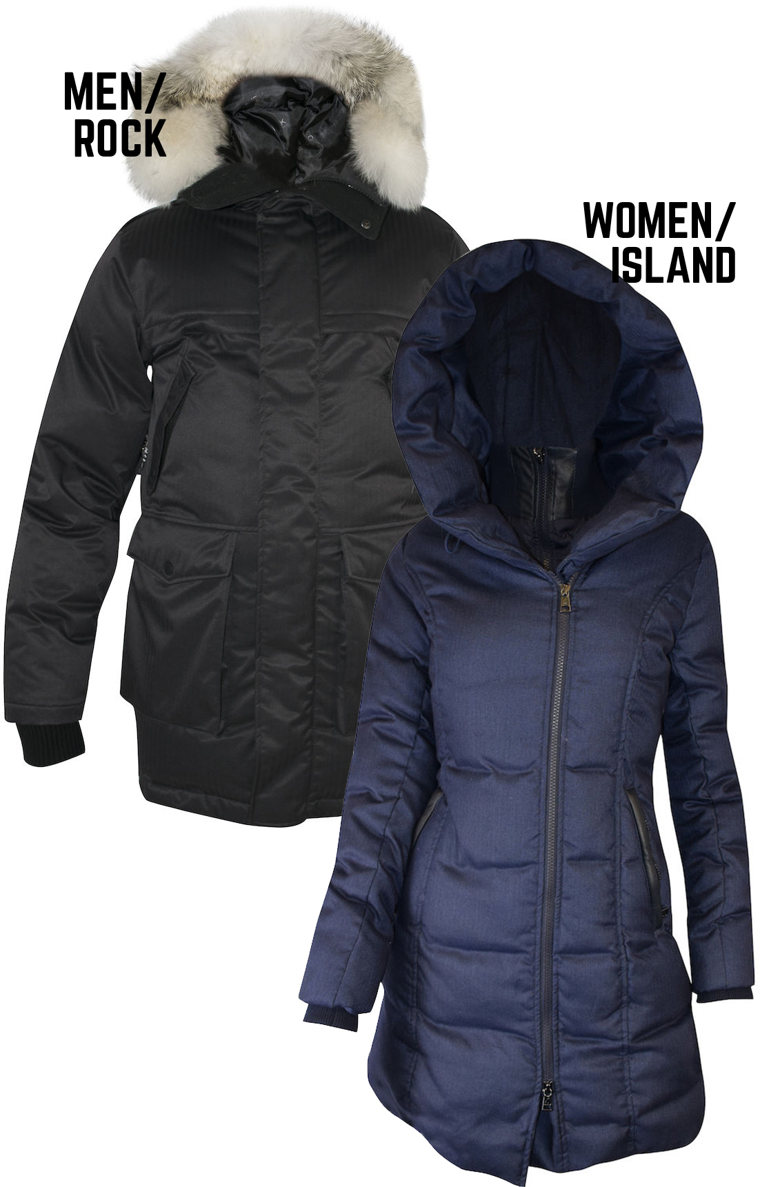 Ookpik winter jackets