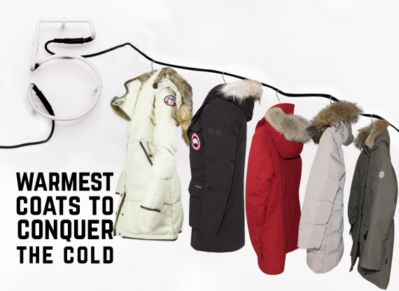 Warmest coats for winter