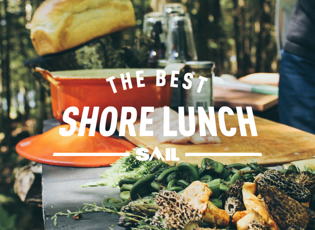 The Art of Cooking a Shore Lunch