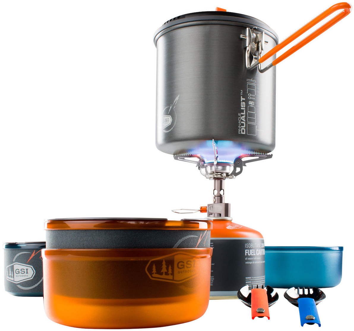 Gsi pinnacle dualist complete cookset for camping