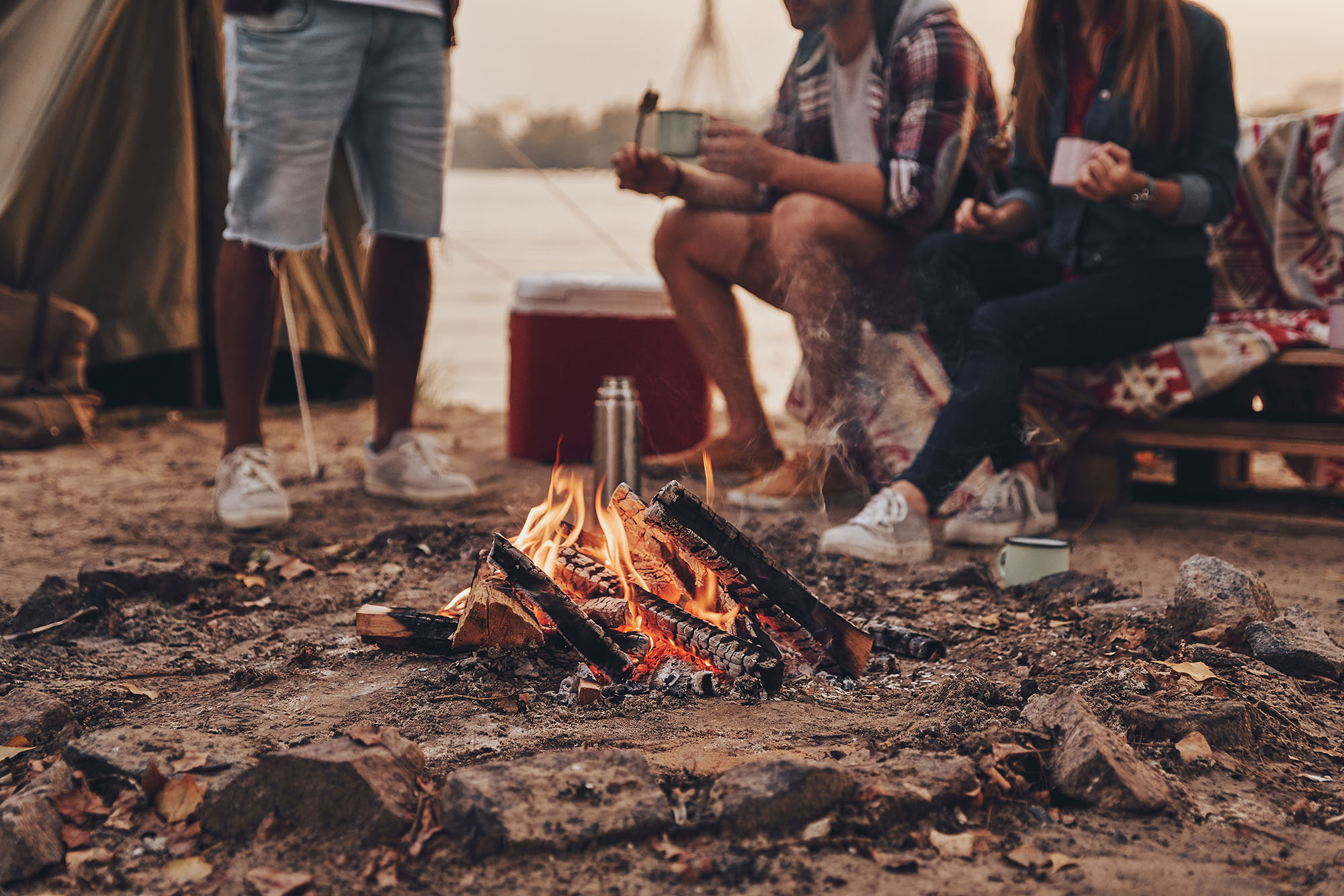 Camping checklist for summer festivals