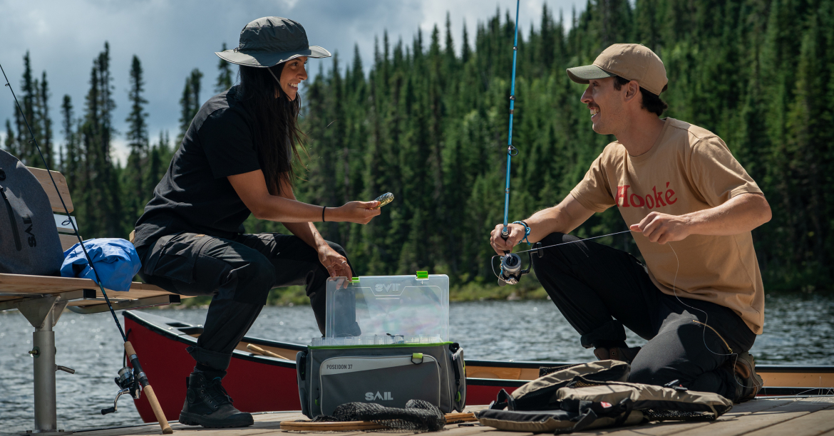 Fishing for beginners: the essentials to include in your tackle box
