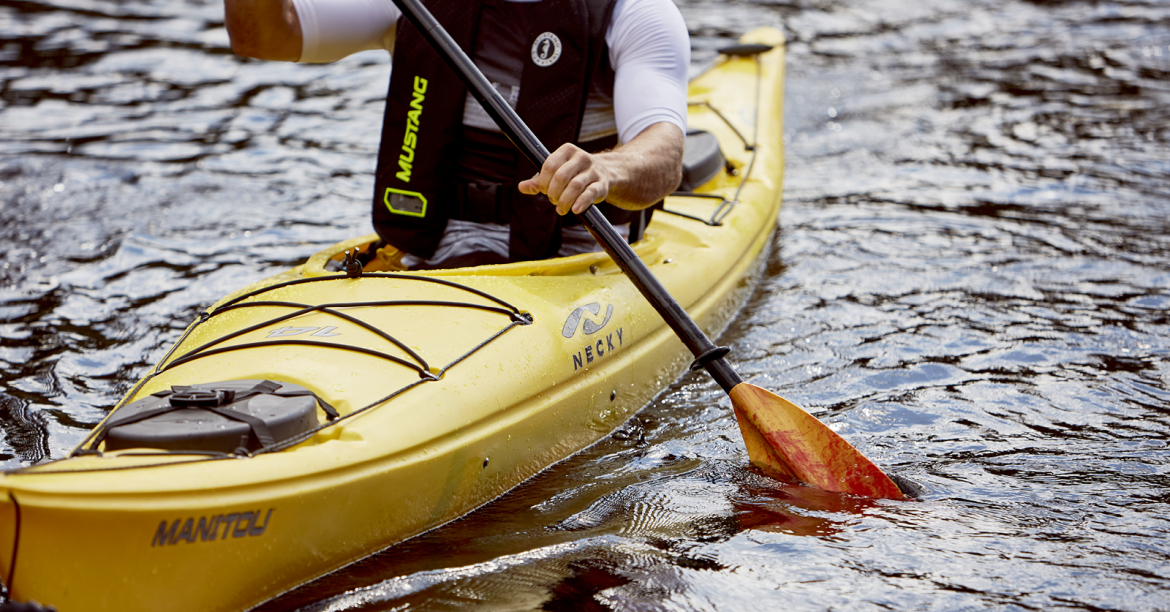 Which PFD should you wear when heading out on the water?