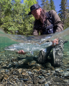 When is the best time to fish for Atlantic salmon?