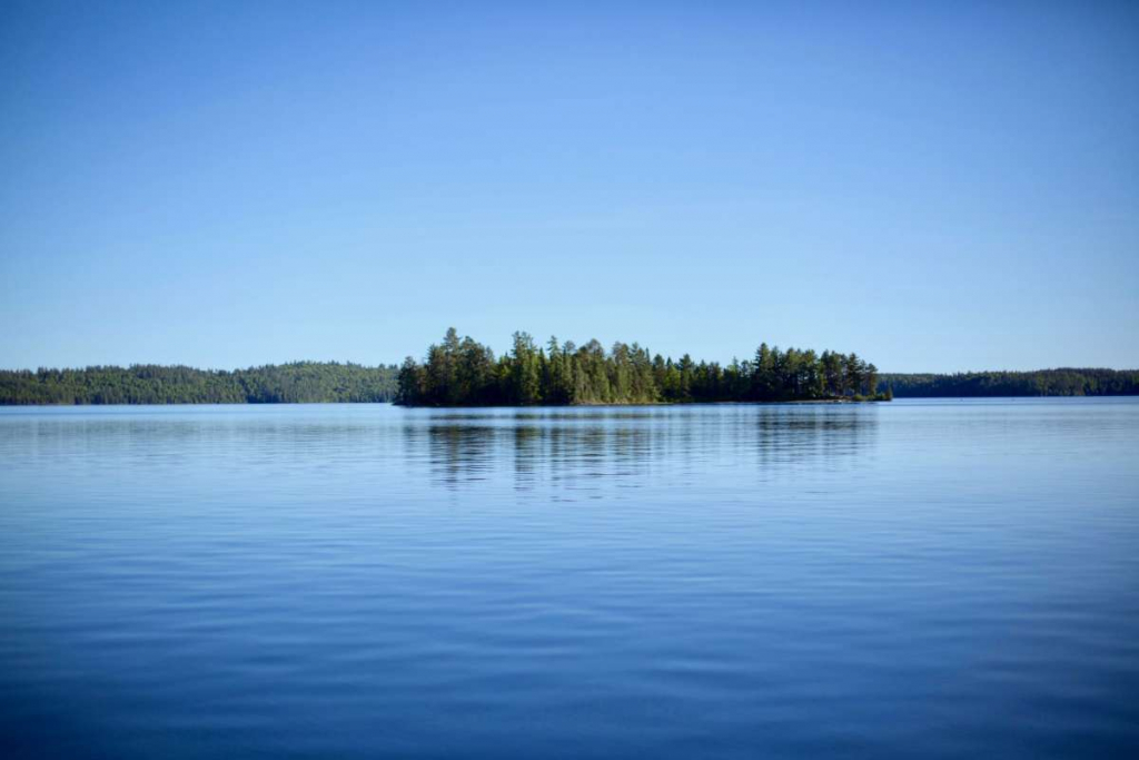 Lake Kipawa, in the province of Quebec