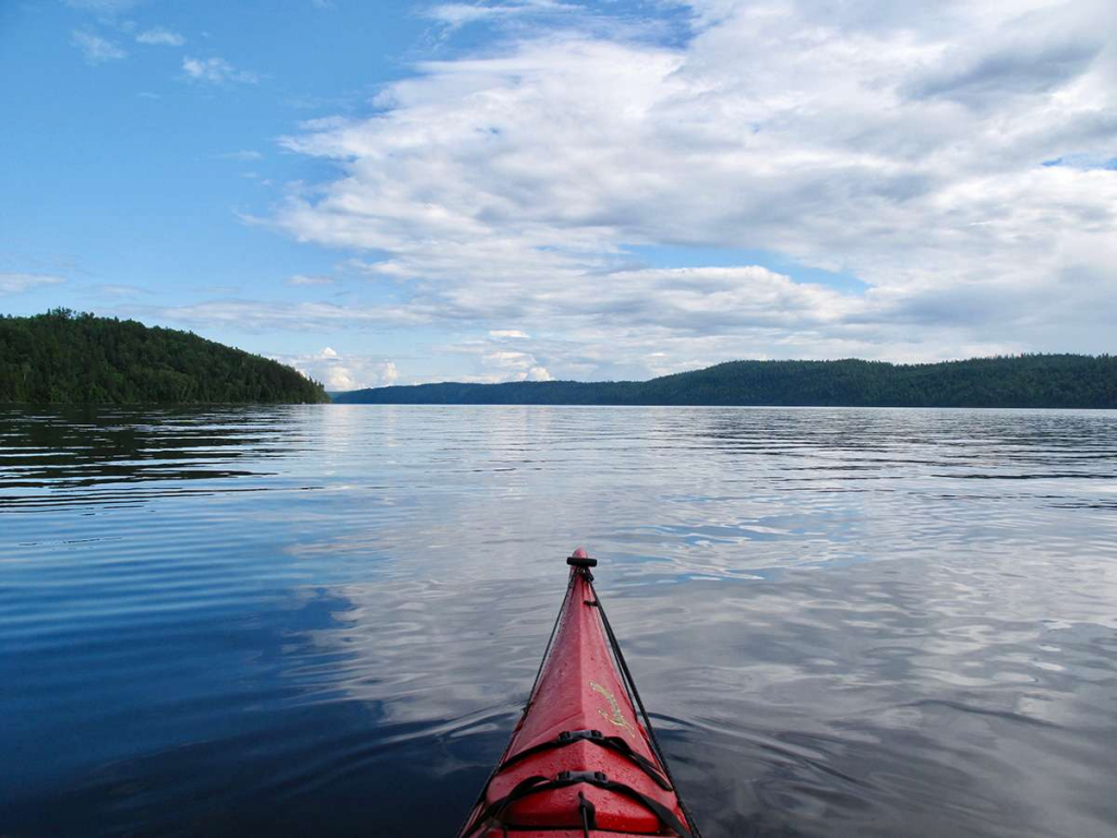 Lake Témiscamingue, in the province of Quebec