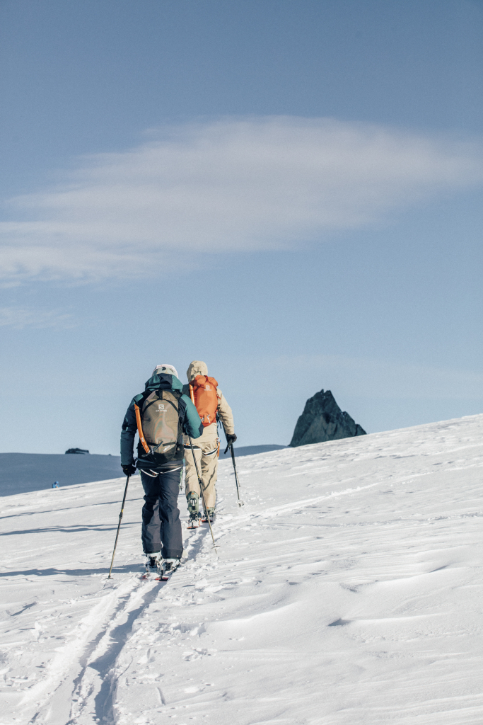 Alpine touring can be practiced in several locations