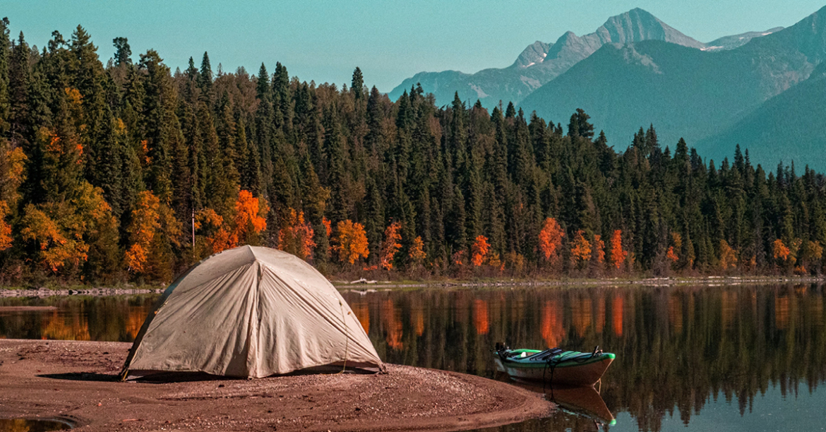 Camping d'automne