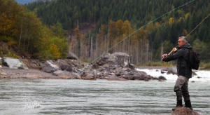 Cyril Chauquet fly fishing