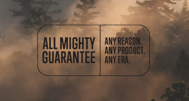 All Mighty Guarantee Osprey