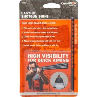 EasyHit Shotgun Sight Red - 2.5 mm x 5 in.