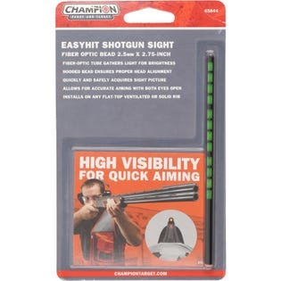 EasyHit Shotgun Sight Red - Red - Green - 3mm x 5 in.