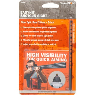 EasyHit Shotgun Sight Red - Red - 3 mm x 5 in.