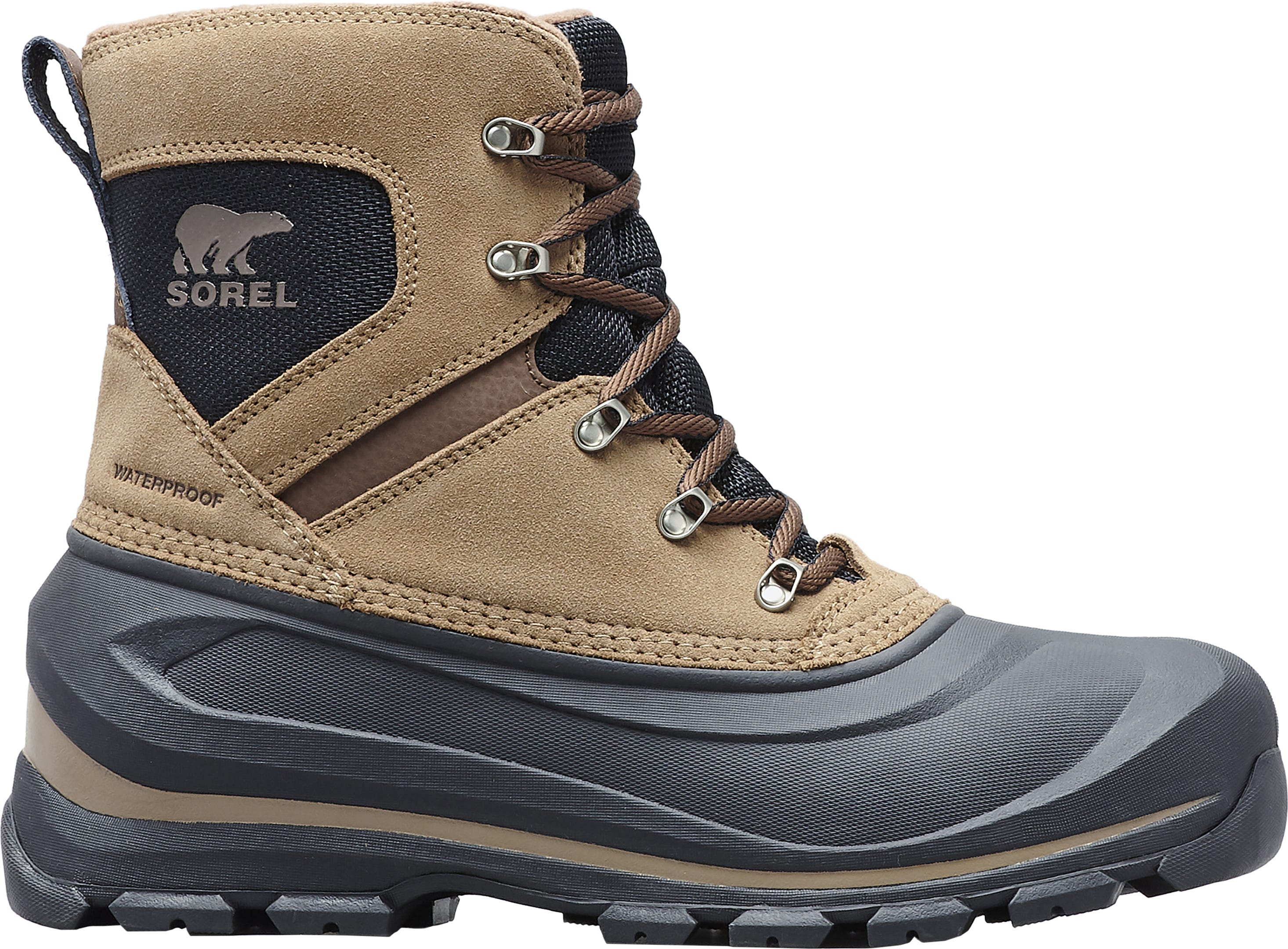 SOREL Buxton Lace Men's Winter Boots   SAIL