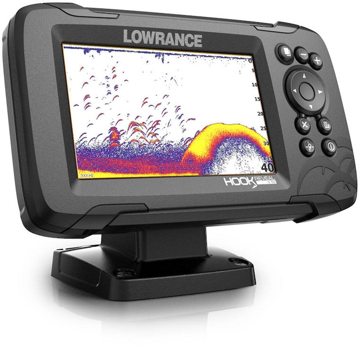 Lowrance Hook Reveal 5 50//200khz Us//canada Navionics NAV for sale online