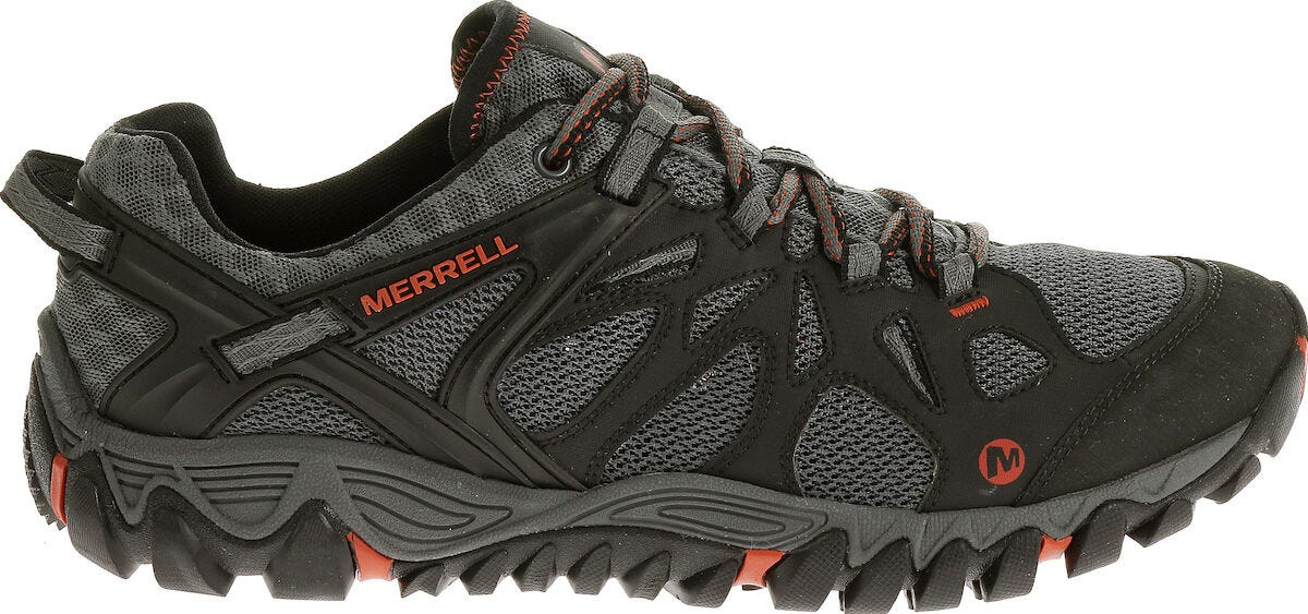 Choose SZ//Color Merrell Men/'s All Out Blaze Aero Sport Hiking Water Shoe